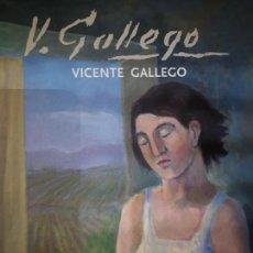 Catálogos publicitarios: CATÁLOGO EXPOSICIÓN VICENTE GALLEGO MUSEO LA RIOJA DIBUJANTE Y MAESTRO REVELLÍN MADURACIÓN OBRAS. Lote 147872170