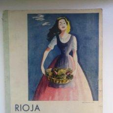 Catálogos publicitarios: IMPRESIONANTE REVISTA ILUSTRADA DE RIOJA INDUSTRIAL - 1949 - PUBLICIDAD, PUEBLOS, FIESTAS, ETC... IM. Lote 147918782