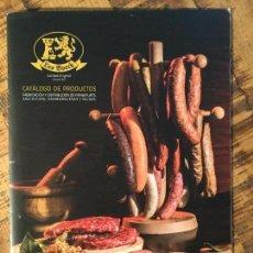 Catálogos publicitarios: CATÁLOGO LEO BOECK FRANKFURTS Y SALCHICHAS. Lote 148005006