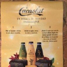 Catálogos publicitarios: CACAOLAT PUBLICIDAD UN REGALO DE NAVIDAD IRRESISTIBLE. Lote 189159185