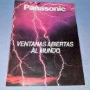 Catálogos publicitarios: CATALOGO DE PANASONIC AÑOS 80 ORIGINAL VER FOTOS Y DESCRIPCION. Lote 148205030