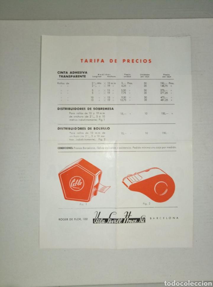 Catálogos publicitarios: Folleto publicidad Hnos Vila Sivill Cello - Foto 2 - 148554892