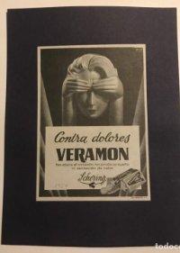 1954 Publicidad Veramon. Schering
