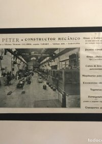 Publicidad H. Péter. Constructor mecánico 18x25 cm