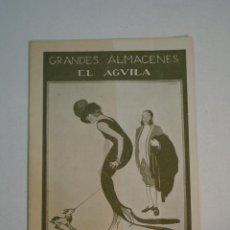 Catálogos publicitarios: CATÁLOGO GRANDES ALMACENES EL ÁGUILA. INVIERNO 1919 - 1920. Lote 149263946