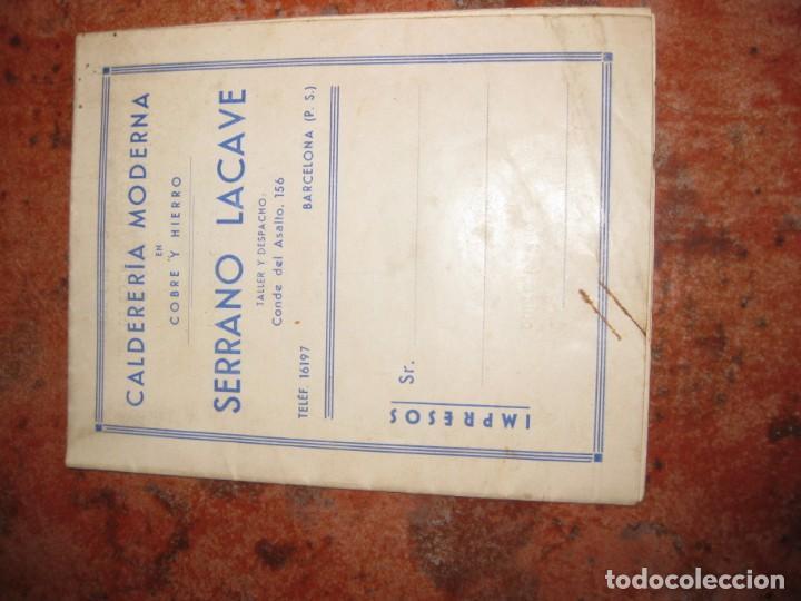 Catálogos publicitarios: bonito antiguo catalogo caldereria moderna en cobre y hierro . serrano lacave . utiles de cocina - Foto 2 - 150172002