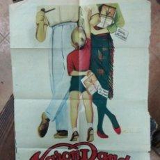 Catálogos publicitarios: PUBLICIDAD VARON DANDY. DE ANTIGUO PERIÓDICO. Lote 150624282