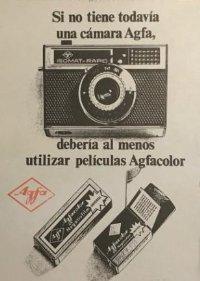 1968 Publicidad Agfa-Gevaert 18x25 cm
