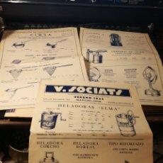 Catálogos publicitarios: V. SOCIETS. CATALOGO DE PRODUCTOS DE FERRETERIA. 1935. Lote 151450641