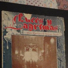 Catálogos publicitarios: LUCES Y LAGRIMAS.GUIA TURISTICA SEMANA SANTA SEVILLA Y FERIA 1949.MANUEL MACHADO.SANTIAGO MONTOTO.. Lote 151660638