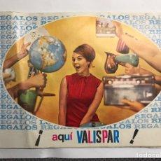 Catálogos publicitarios: PUBLICIDAD. VALISPAR, CATALOGÓ ARTÍCULOS EN VENTA (H.1960?). Lote 151915092