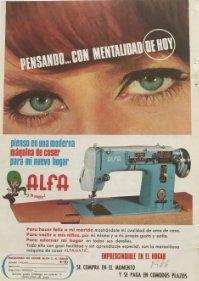1966 Publicidad Alfa 13,5x18,7 cm