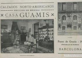 1966 Publicidad calzados. Casa Guamis 22,2x14,4 cm