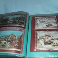 Catálogos publicitarios: PRECIOSO ANTIGUO ÁLBUM DE 73 FOTOS MUESTRARIO VARIEDAD DE REPLICAS DE CUADROS. Lote 151956178
