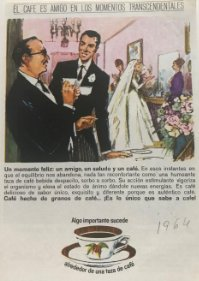 1964 Publicidad café 11,6x17,1 cm