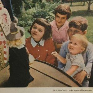 1961 Publicidad Kodak. Anuncio antiguo