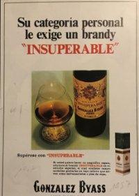 1957 Publicidad Gonzalez Byass