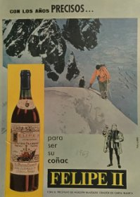 1963 Publicidad Coñac Felipe II