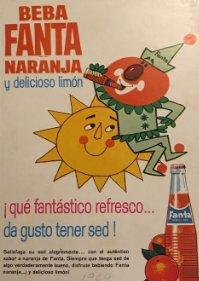 1964 Publicidad Fanta