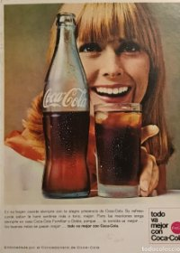 1966 Publicidad CocaCola