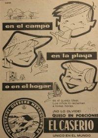 1959 Publicidad El Caserío