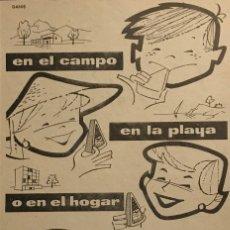 Catálogos publicitarios: 1959 PUBLICIDAD EL CASERÍO. Lote 149254274