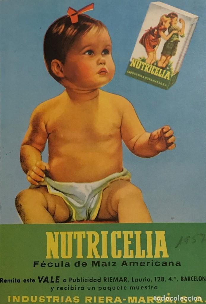 1957 PUBLICIDAD NUTRICELIA (Coleccionismo - Catálogos Publicitarios)