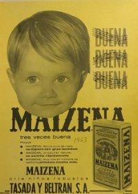 1963 Publicidad Maizena