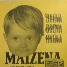 Catálogos publicitarios: 1963 PUBLICIDAD MAIZENA. Lote 149254582