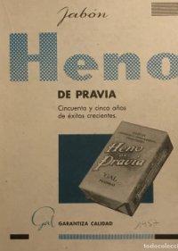 1957 Publicidad Jabón Heno de Pravia