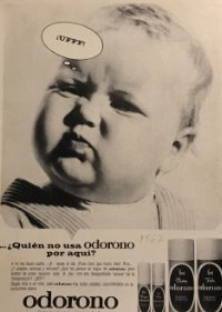 1967 Publicidad Desodorante Odorono