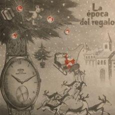 Catálogos publicitarios: 1962 PUBLICIDAD RELOJ DOGMA. Lote 149254962