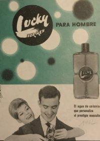 1962 Publicidad Colonia Lucky
