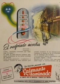 1956 Publicidad Calmante vitaminado