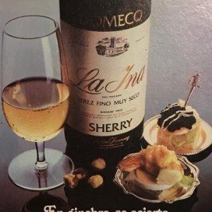1977 Publicidad Jerez Fino La Ina Domecq