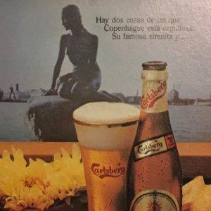 1977 Publicidad Cerveza Carlsberg