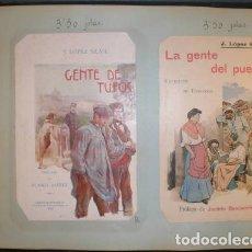 Catálogos publicitarios: LIBRERIA FERNADO FE. CATÁLOGO FACTICIO DE LIBRERO CON CUBIERTAS DE LIBROS PUBL. ENTRE 1868 Y 1918. Lote 38928184