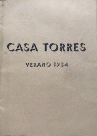 1934 Casa Torres. Verano 1934. Novedades y modelos para señoras 13,8x21,5 cm