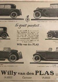 1926 Publicidad coches antiguos