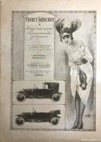 Publicidad coches antiguos Rochet-Schneider