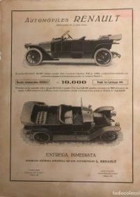 Publicidad coches antiguos Renault