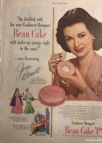 1947 Publicidad Beau Cake