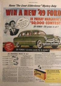 1948 Publicidad automóviles Ford