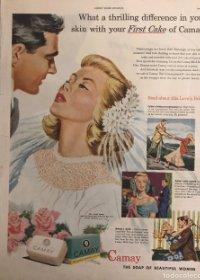 1949 Publicidad jabón 27,4x34,9 cm