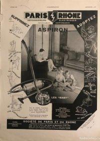 1939 Publicidad aspiradora 28,4x37,9 cm