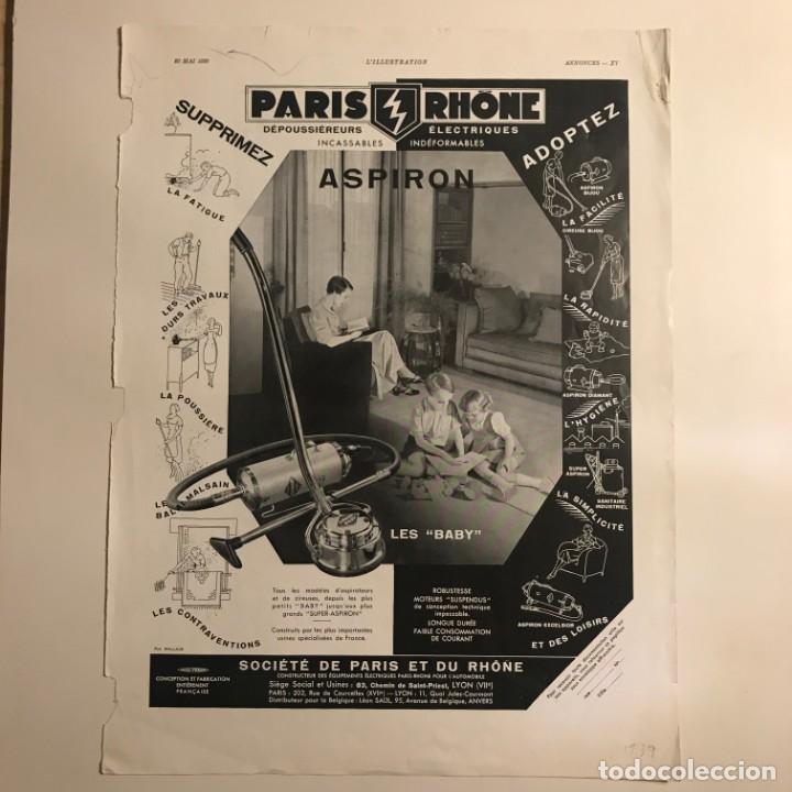 1939 Publicidad aspiradora 28,4x37,9 cm - 153575194