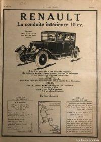 1925 Publicidad Renault