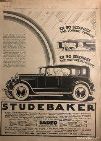 1926 Publicidad automóviles