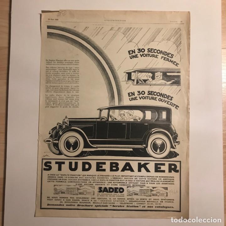 1926 Publicidad automóviles 29x40 cm - 153582326