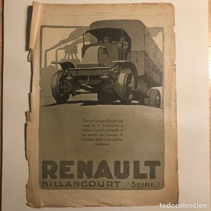 1920 Publicidad automóviles Renault 30,1x40,8 cm - 153585478